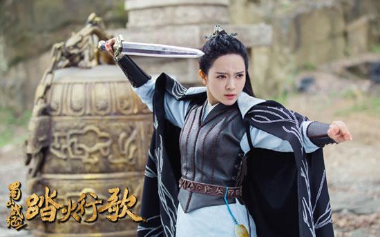 《蜀山战纪2》曝拍摄花絮 雨婷儿敬业实力圈粉