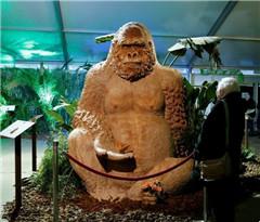 """比利时有座""""动物园"""" 猩猩鳄鱼都用巧克力制成"""