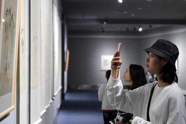 十竹斋木版水印艺术文献作品展登陆江西