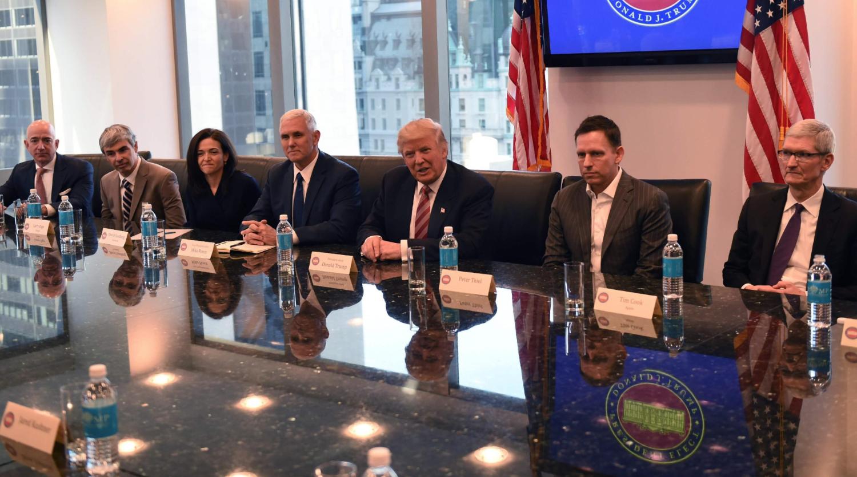 纽时:特朗普政策红利诱人 硅谷变心爱上总统