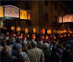瑞士门德里西奥复活节游街申遗:重现耶稣受难之路