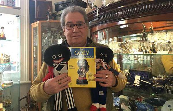 英古董店主售卖怪物娃娃 被指种族歧视引争议