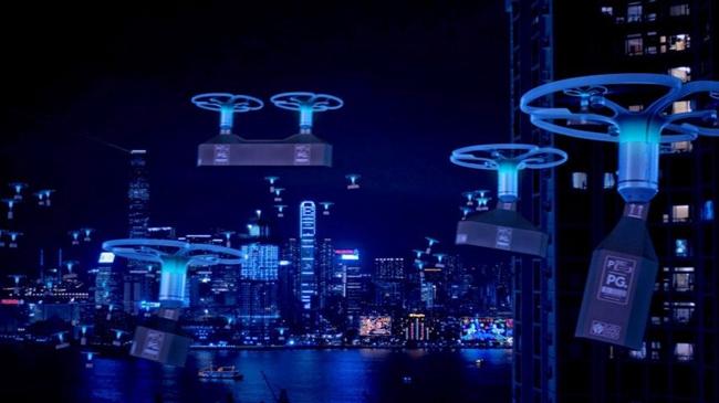未来城市的无人机送货系统是怎样的?