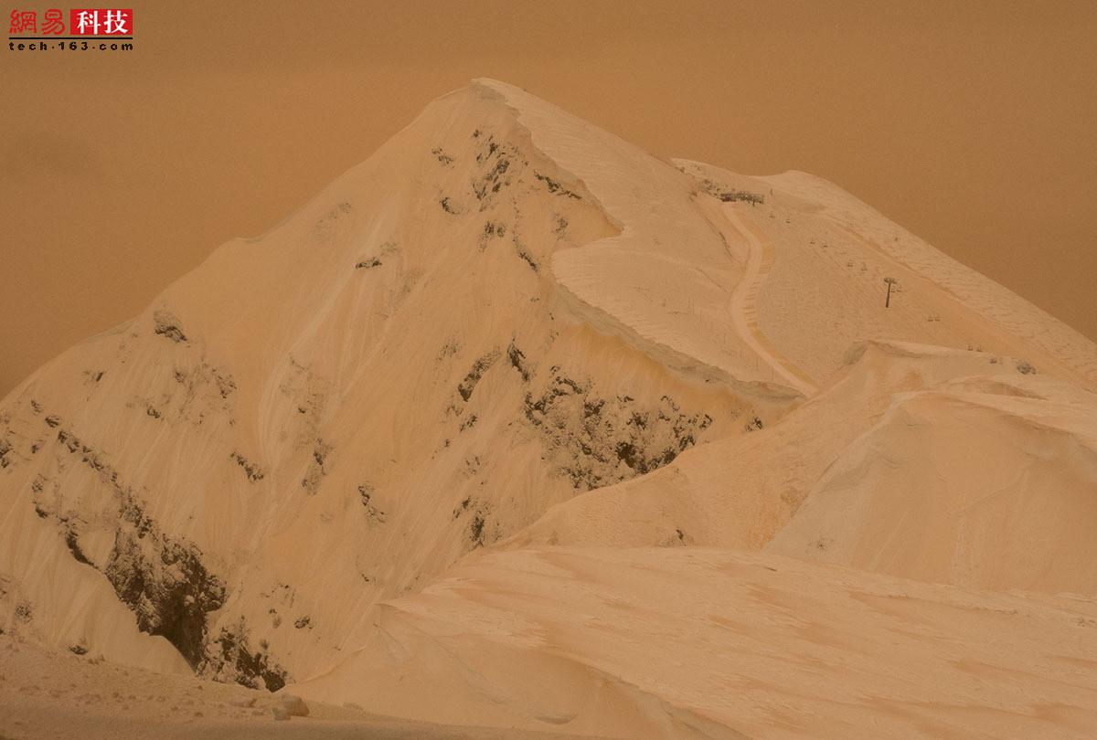 沙尘暴中的世界各地