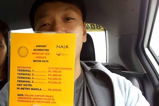 """外媒:华裔男子在菲律宾打的""""挨宰"""" 司机被捕车被扣"""
