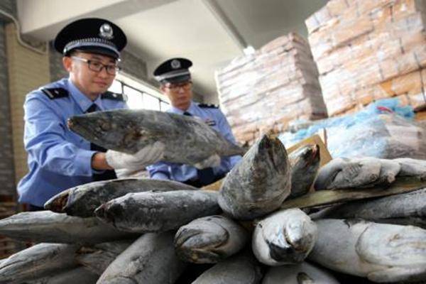 广州破三宗走私冻品案 案值超8亿