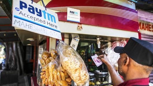 软银与阿里对印度电商Paytm投资4.45亿美元