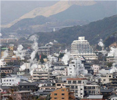 """日本""""别府地狱""""将大增酒店客房 迎接更多外国游客访问"""