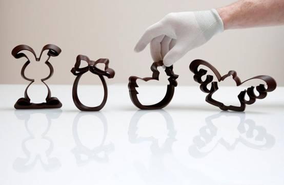 科学家用X射线扫描仪打印复活节巧克力3D图