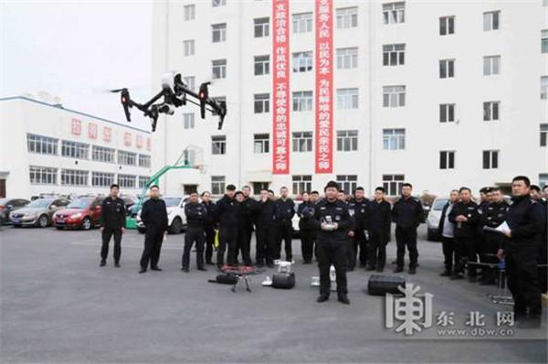 """哈尔滨""""黑豹""""突击队无人机侦察小组成立"""