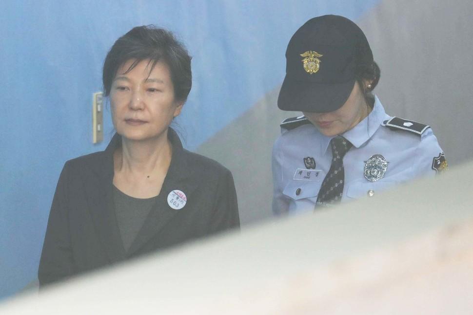 朴槿惠一审宣判将被直播!其曾写信明确反对