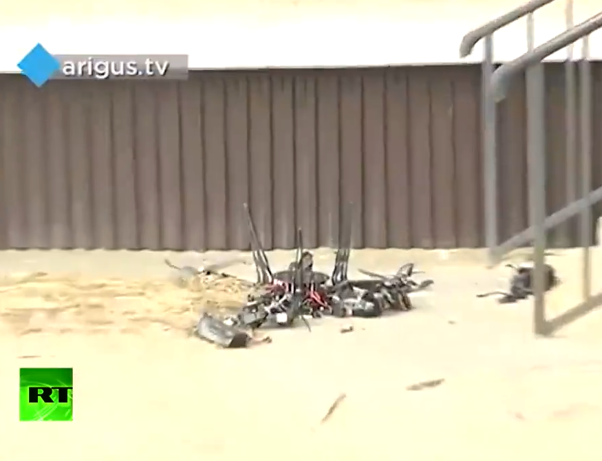 俄试验无人机送快递 2万美元设备摔碎