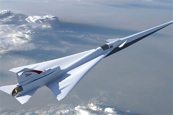美国砸2.4亿美元打造无音爆超音速飞机造型曝光