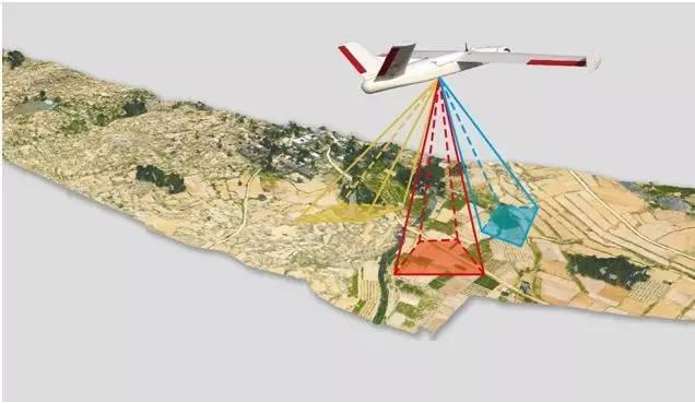 陕西土地整治工程用上无人机航测