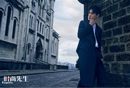 王凯登时尚杂志封面