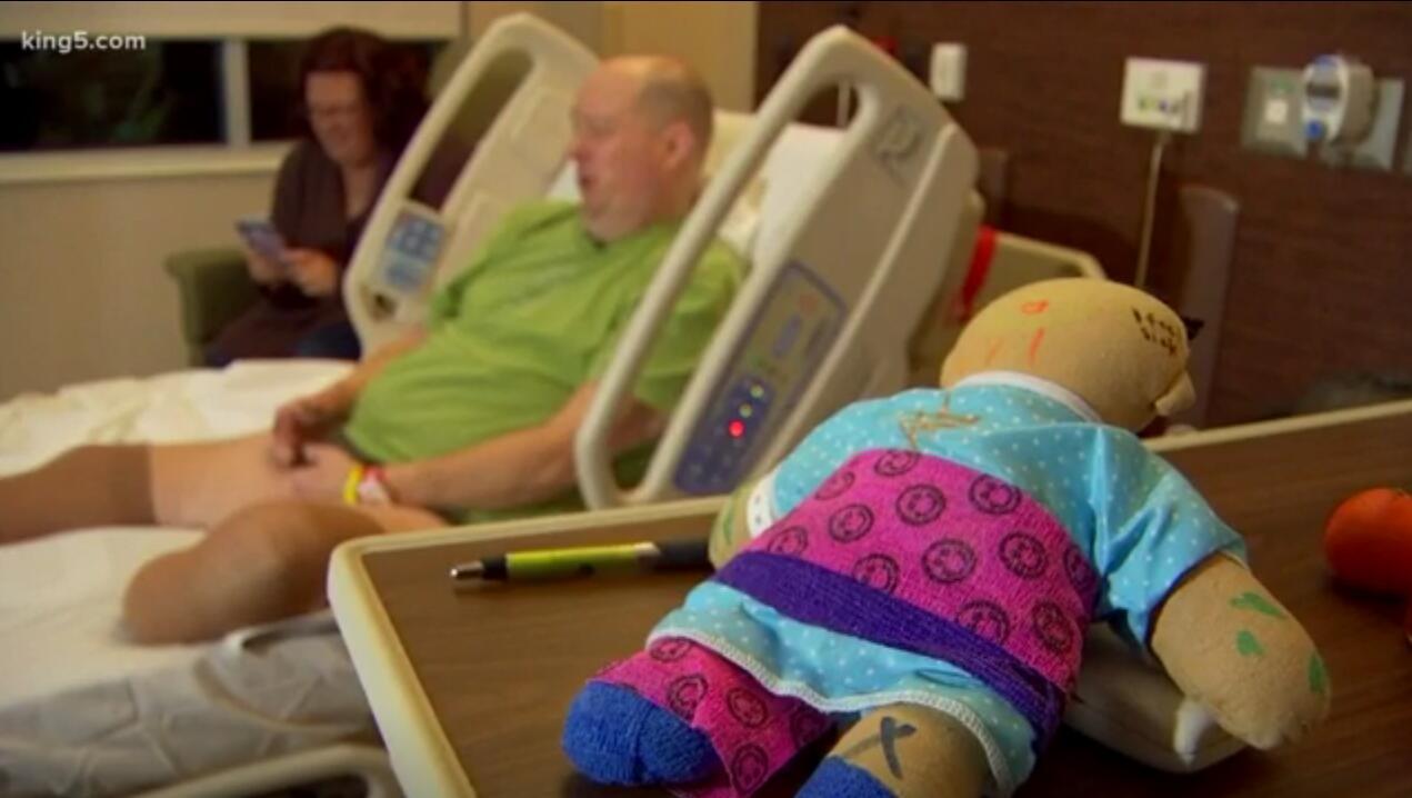 男子感染罕见流感并发症 被迫截去双脚和9根手指