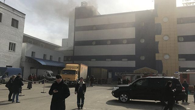 突发!莫斯科一商场发生火灾 已导致一死多伤