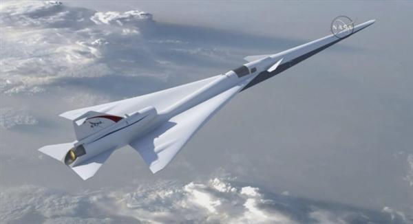 NASA下血本造静音超音速飞机:缩短旅行距离
