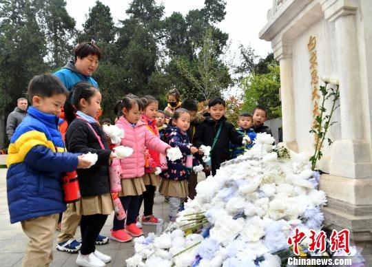 华北军区烈士陵园清明公祭活动