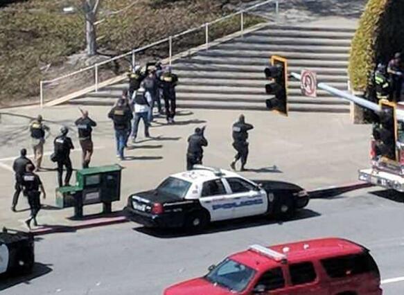 YouTube枪击案致1死4伤:女嫌犯枪击男友后自尽