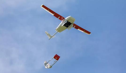Zipline测试第二代无人机 加快医疗服务业务的速度