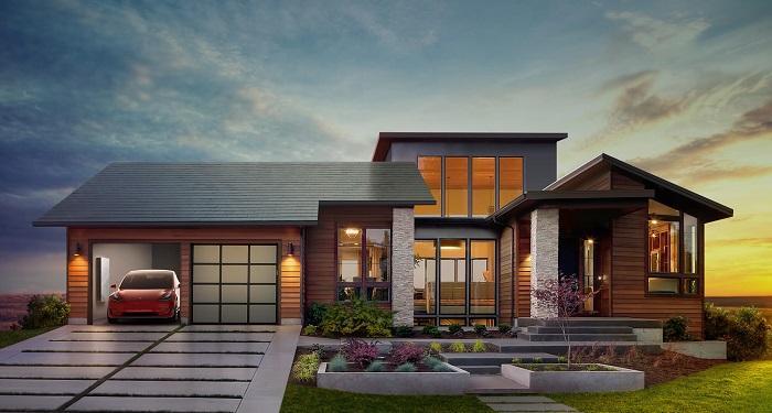 特斯拉太阳能屋顶安装服务已正式上线