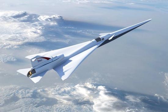 NASA要造X型超音速客机 消除音爆是关键