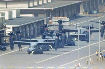 """美军""""鱼鹰""""将在日本首都圈常规飞行"""