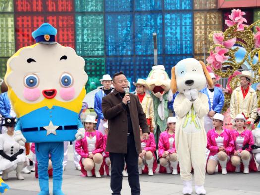 北京欢乐谷第十二届国际时尚文化节开幕