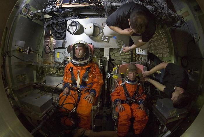 NASA分享假人碰撞冲击测试 以期航空航天器更安全