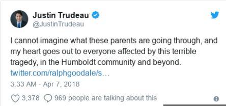 加拿大一载少年曲棍球队巴士和卡车相撞 14人死亡