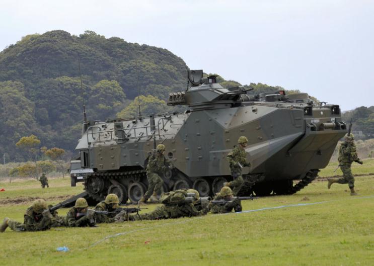 """英媒:日版""""海军陆战队""""成立对邻国构成威胁"""