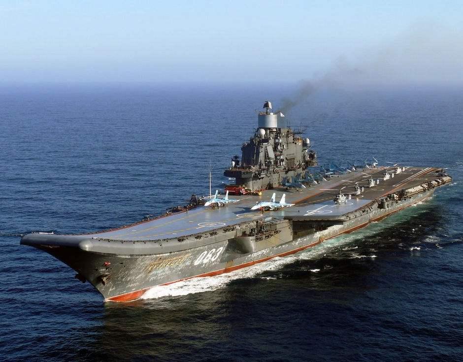 """新一轮的抹黑?俄唯一航母被美媒评为""""史上最差"""""""
