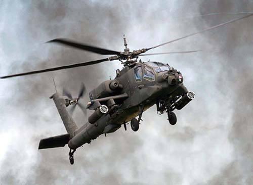 5天内第4起!美军王牌师一架阿帕奇直升机坠毁