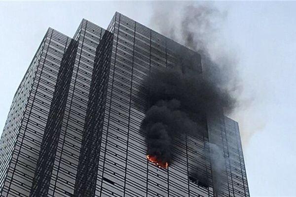 特朗普大厦发生火灾 已经导致1死4伤