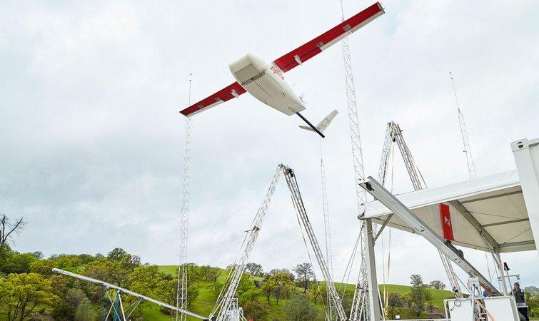 Zipline发布世界最快运货无人机 用途是送血