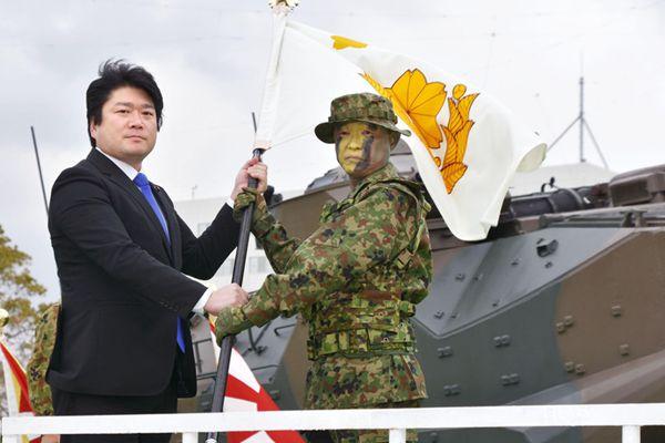 """""""水陆机动团""""设立!日本成立二战后首个两栖部队"""