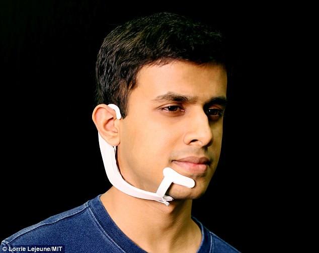 麻省理工发明读心器 动动脑子可输入自己所想
