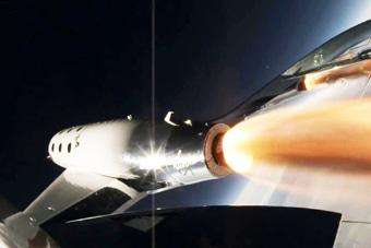 维珍银河新飞船首试动力飞行 点火后30秒超音速
