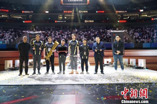 第三届DOTA2亚洲邀请赛收官 中国战队憾失冠军