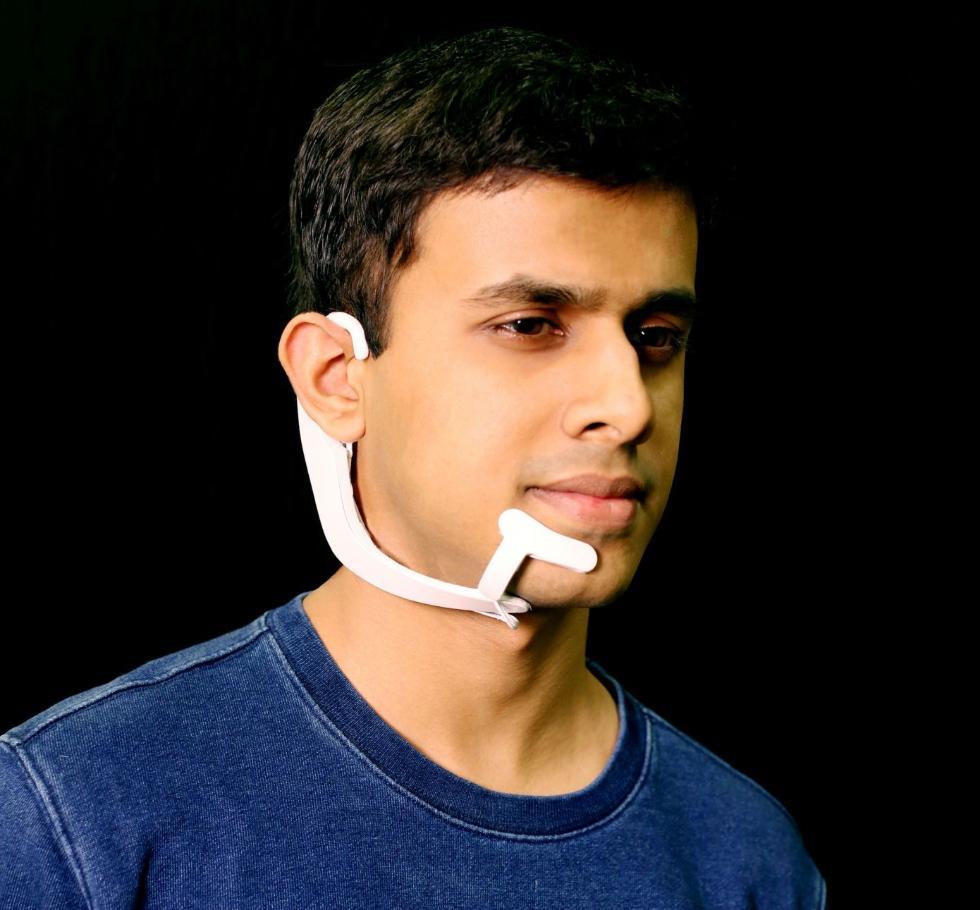 """MIT研发新型耳机:可以读取你""""脑袋里的想法"""""""