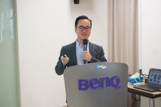 知萌CEO肖明超为明基开展培训,分享科技品牌创新趋势