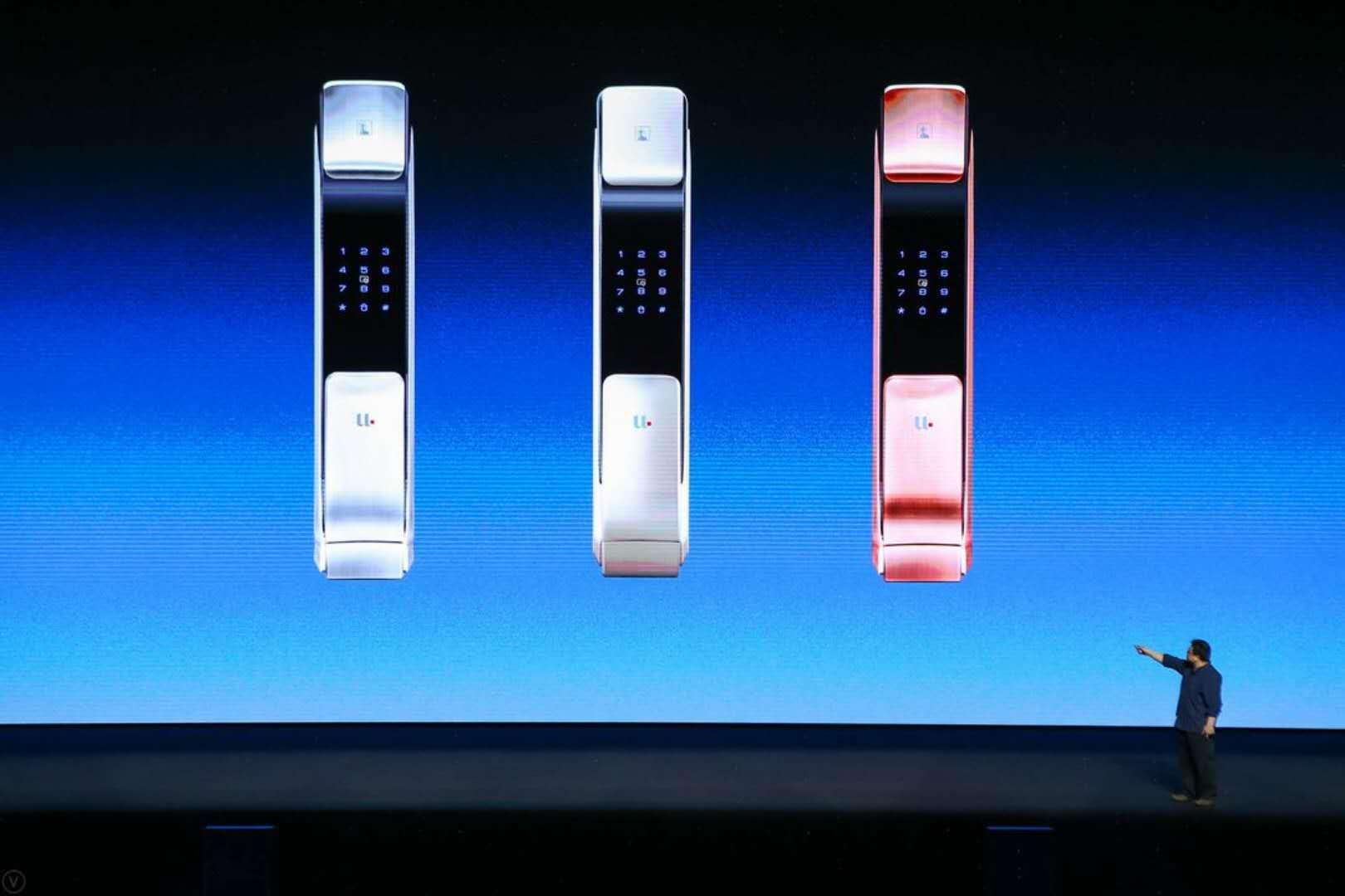 锤子科技科技发布会 罗永浩却为这家智能锁站台