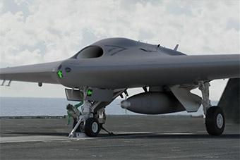 洛马展示自研MQ25无人机方案 扩展F35作战半径
