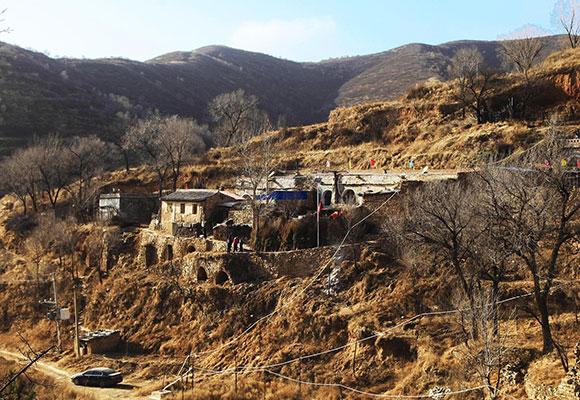 太原六位老人成村子最后居民 相伴过余生