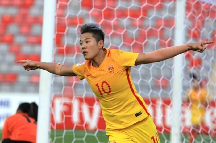 恭喜中国女足晋级世界杯