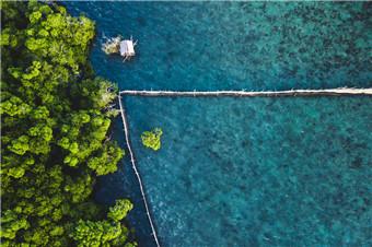 沉船潜水的世界胜地 隐世海岛科隆