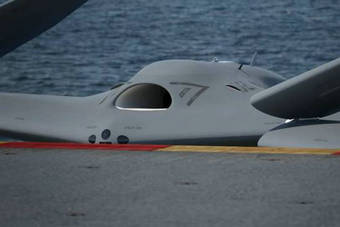 美军最新舰载无人机MQ25亮相