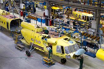 俄最大直升机厂让人惊讶 干净的不像俄军工厂