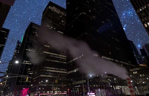 震撼!远离光污染的纽约夜空竟如此美丽